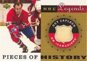 2001-02 Upper Deck Legends Pieces of History Sticks #PHGL Guy Lafleur