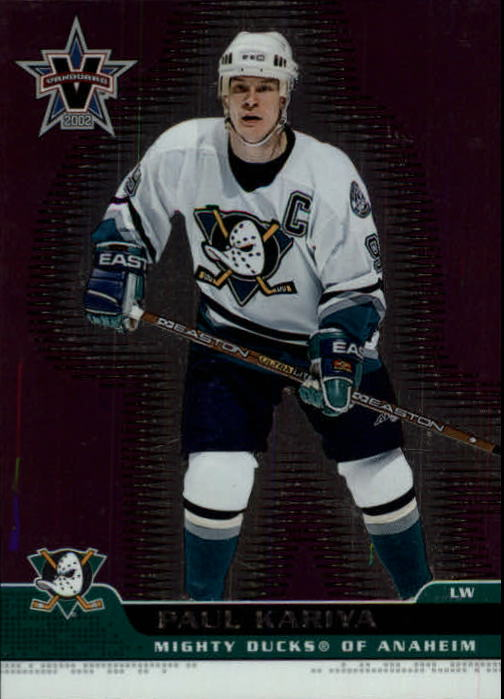 2001-02 Vanguard #2 Paul Kariya