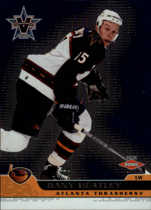 2001-02 Vanguard #3 Dany Heatley