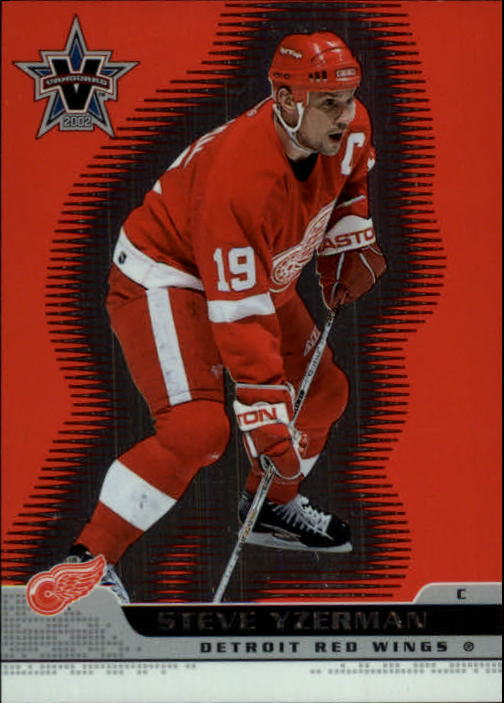 2001-02 Vanguard #38 Steve Yzerman