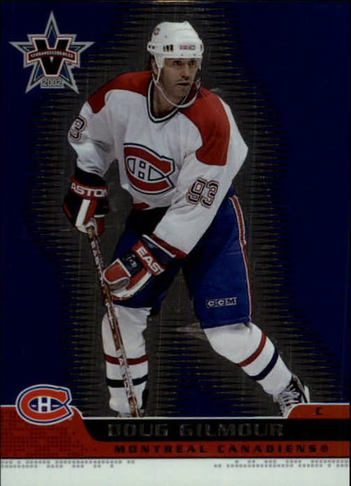 2001-02 Vanguard #49 Doug Gilmour