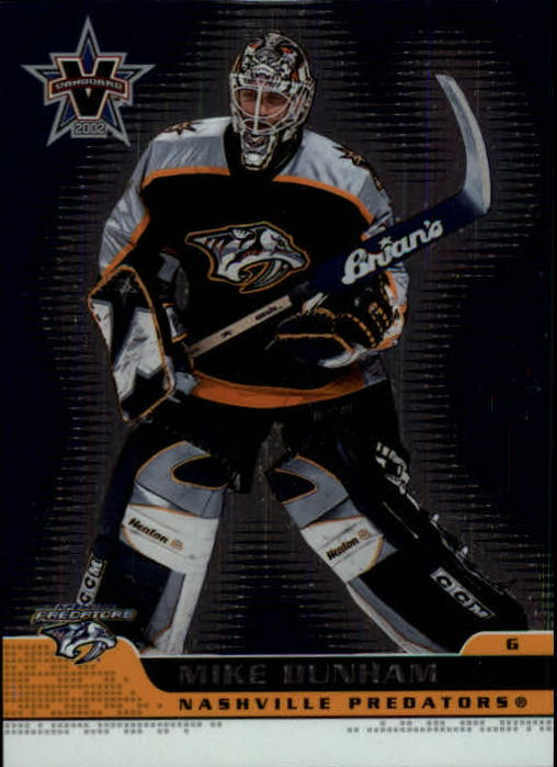 2001-02 Vanguard #53 Mike Dunham
