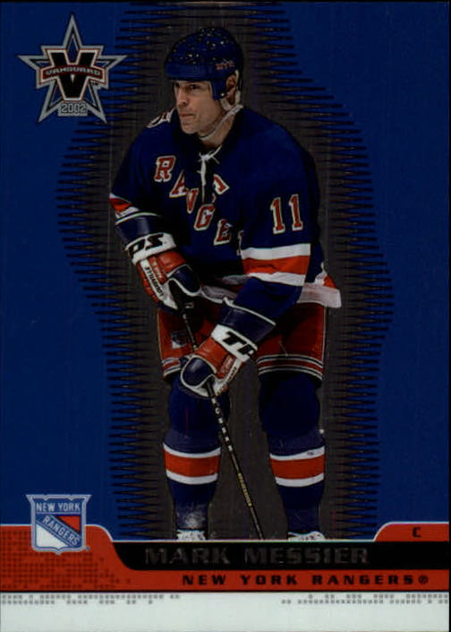 2001-02 Vanguard #65 Mark Messier