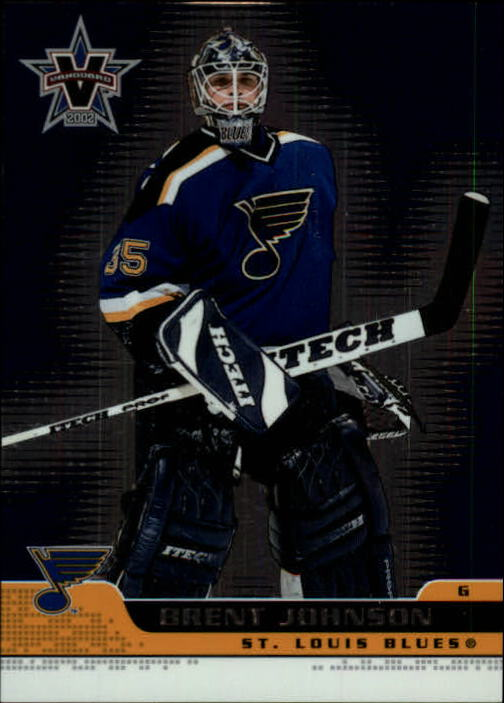 2001-02 Vanguard #81 Brent Johnson
