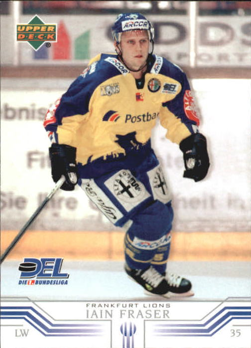 2001-02 German DEL Upper Deck #85 Ian Fraser