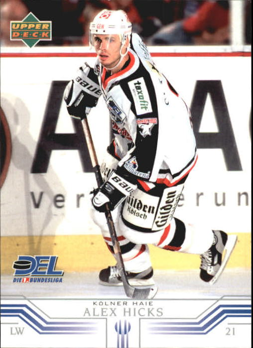 2001-02 German DEL Upper Deck #138 Alex Hicks