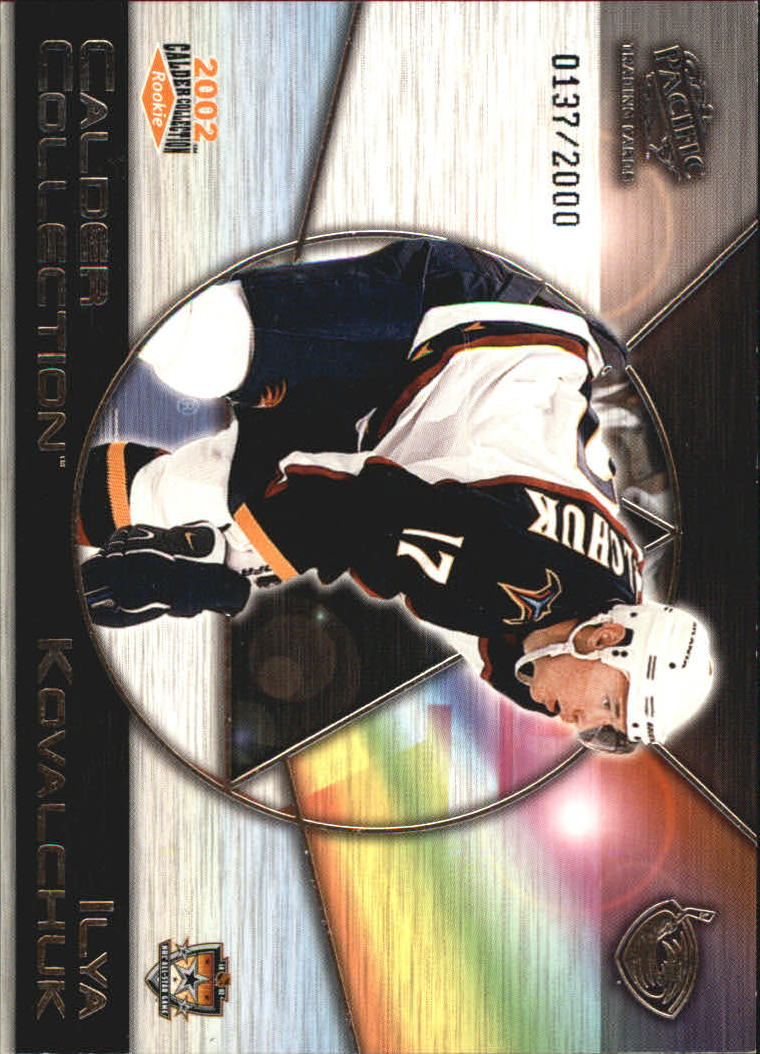2002 Pacific Calder Collection All-Star Fantasy #2 Ilya Kovalchuk