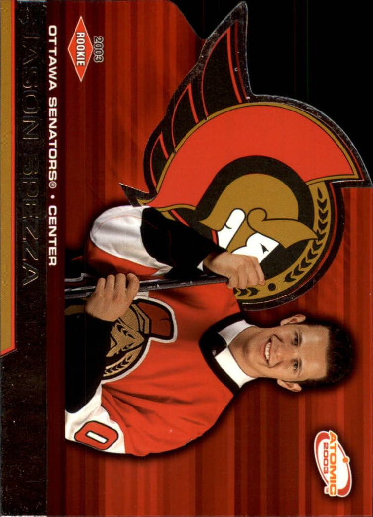 2002-03 Atomic #128 Jason Spezza RC