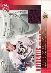 2002-03 Atomic Jerseys Gold #13 Oleg Tverdovsky