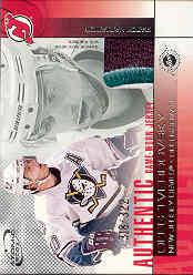 2002-03 Atomic Jerseys Patch #13 Oleg Tverdovsky/322
