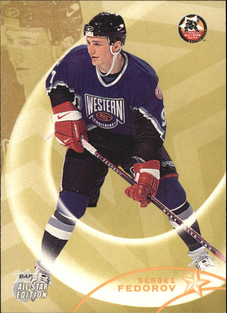 2002-03 BAP All-Star Edition #21 Sergei Fedorov