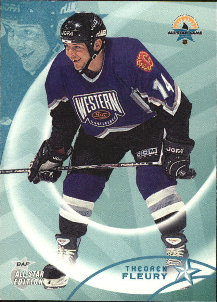 2002-03 BAP All-Star Edition #22 Theo Fleury