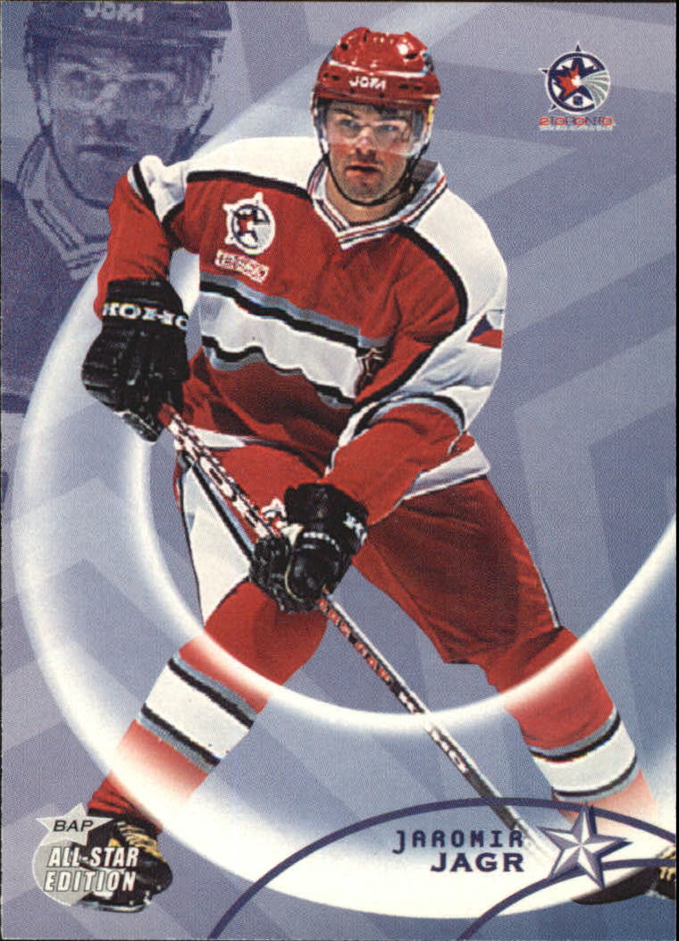2002-03 BAP All-Star Edition #34 Jaromir Jagr
