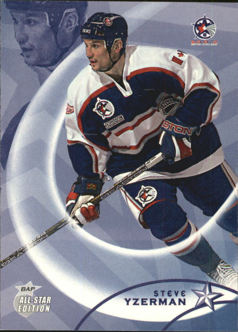 2002-03 BAP All-Star Edition #99 Steve Yzerman
