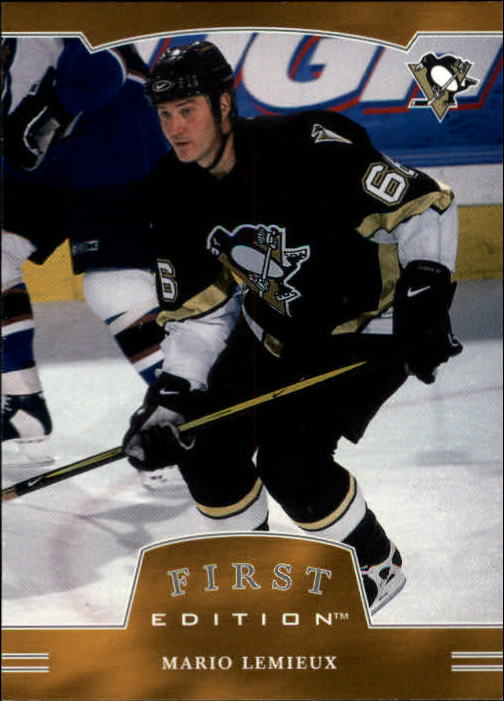 2002-03 BAP First Edition #1 Mario Lemieux