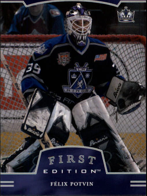2002-03 BAP First Edition #4 Felix Potvin