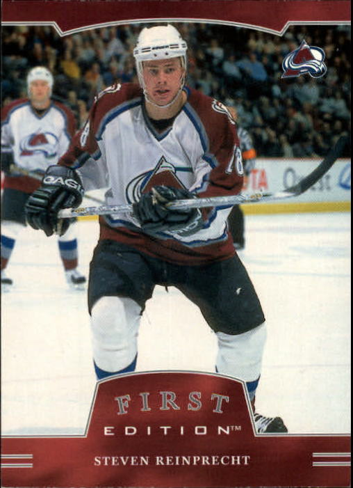 2002-03 BAP First Edition #6 Steven Reinprecht