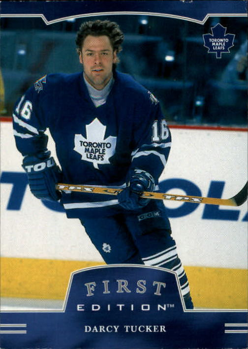 2002-03 BAP First Edition #11 Darcy Tucker