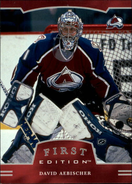 2002-03 BAP First Edition #13 David Aebischer