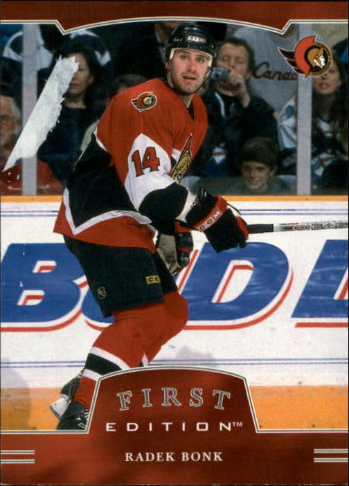 2002-03 BAP First Edition #15 Radek Bonk