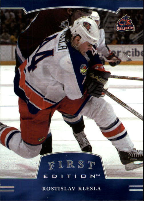 2002-03 BAP First Edition #20 Rostislav Klesla