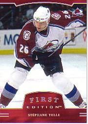 2002-03 BAP First Edition #60 Stephane Yelle