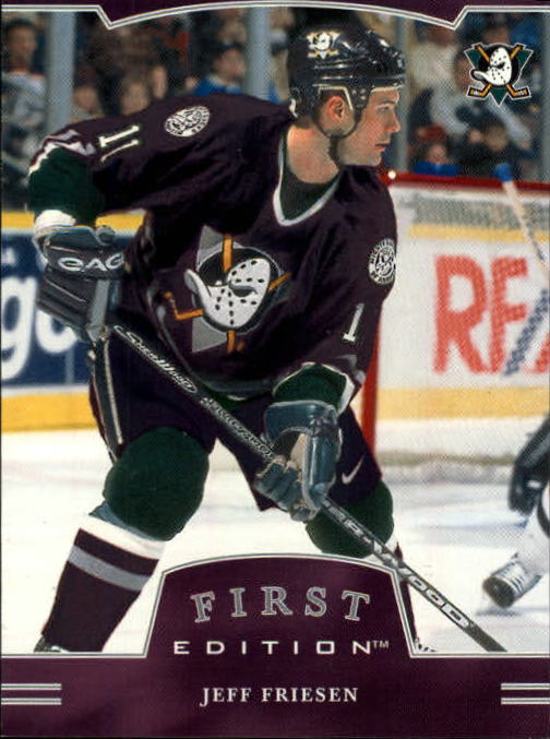 2002-03 BAP First Edition #63 Jeff Friesen