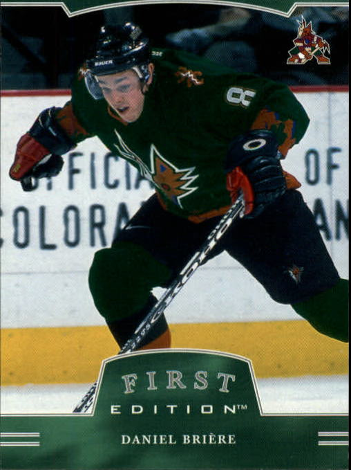 2002-03 BAP First Edition #64 Daniel Briere
