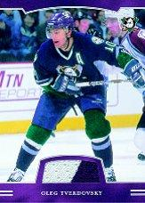 2002-03 BAP First Edition Jerseys #48 Oleg Tverdovsky