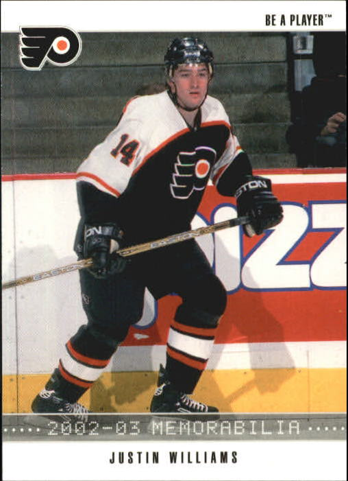 2002-03 BAP Memorabilia #156 Justin Williams