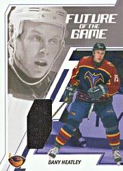 2002-03 BAP Memorabilia Future of the Game #FG5 Dany Heatley