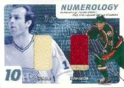 2002-03 BAP Ultimate Memorabilia Numerology #14 Guy Lafleur/Marian Gaborik