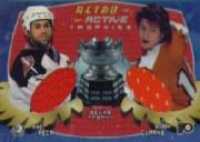 2002-03 BAP Ultimate Memorabilia Retro Trophies #3 Mike Peca/Bobby Clarke