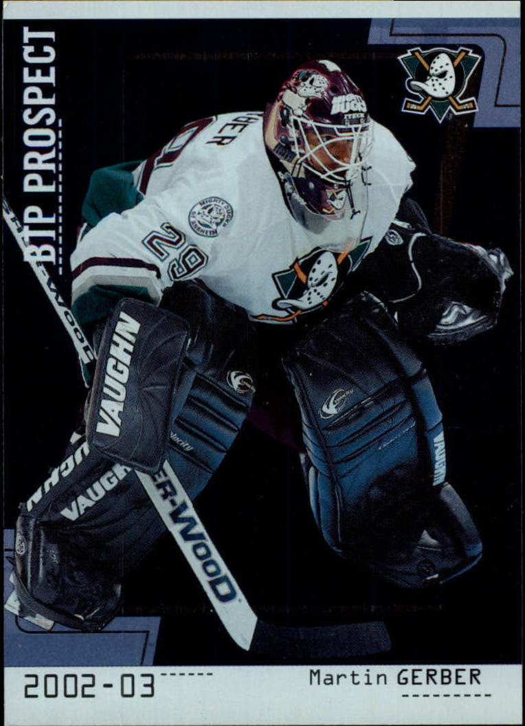 2002-03 Between the Pipes #76 Martin Gerber RC