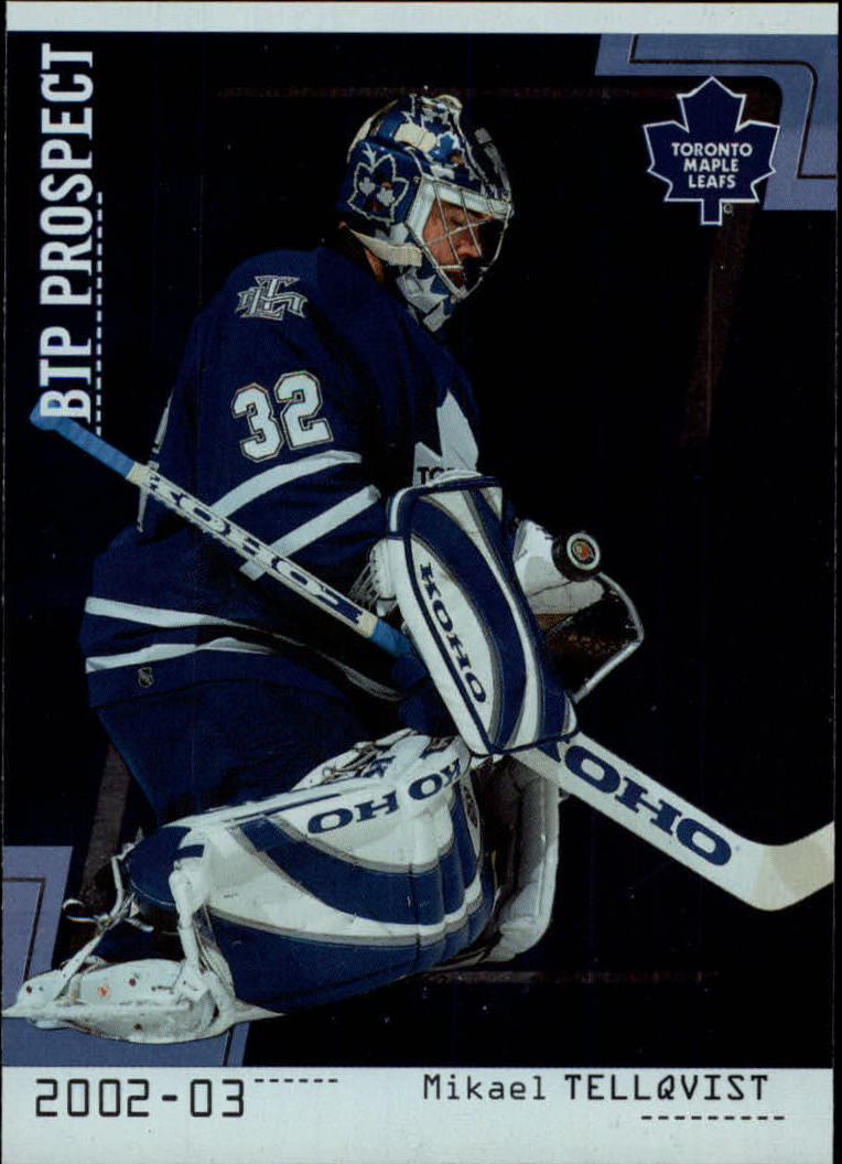 2002-03 Between the Pipes #77 Mikael Tellqvist RC