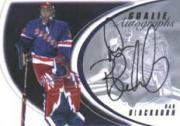 2002-03 Between the Pipes Goalie Autographs #2 Dan Blackburn/50*