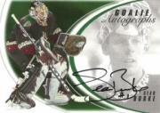 2002-03 Between the Pipes Goalie Autographs #3 Sean Burke/50*