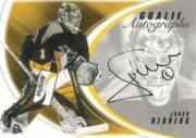 2002-03 Between the Pipes Goalie Autographs #7 Johan Hedberg/50*