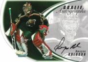 2002-03 Between the Pipes Goalie Autographs #19 Dwayne Roloson/50*
