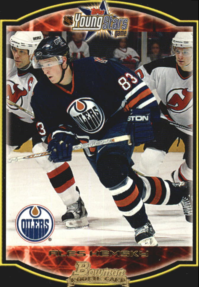 2002-03 Bowman YoungStars #159 Ales Hemsky RC