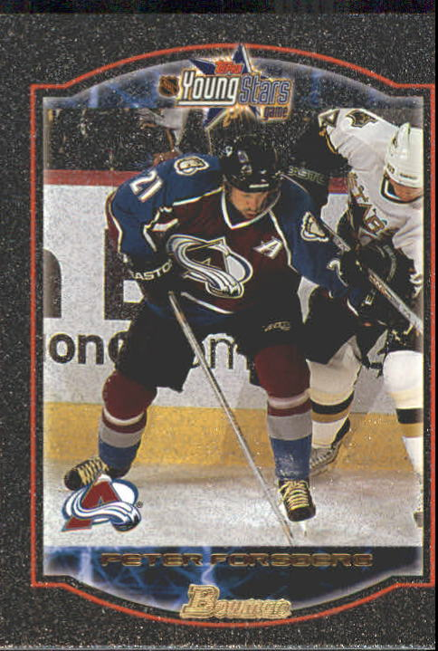 2002-03 Bowman YoungStars Silver #14 Peter Forsberg
