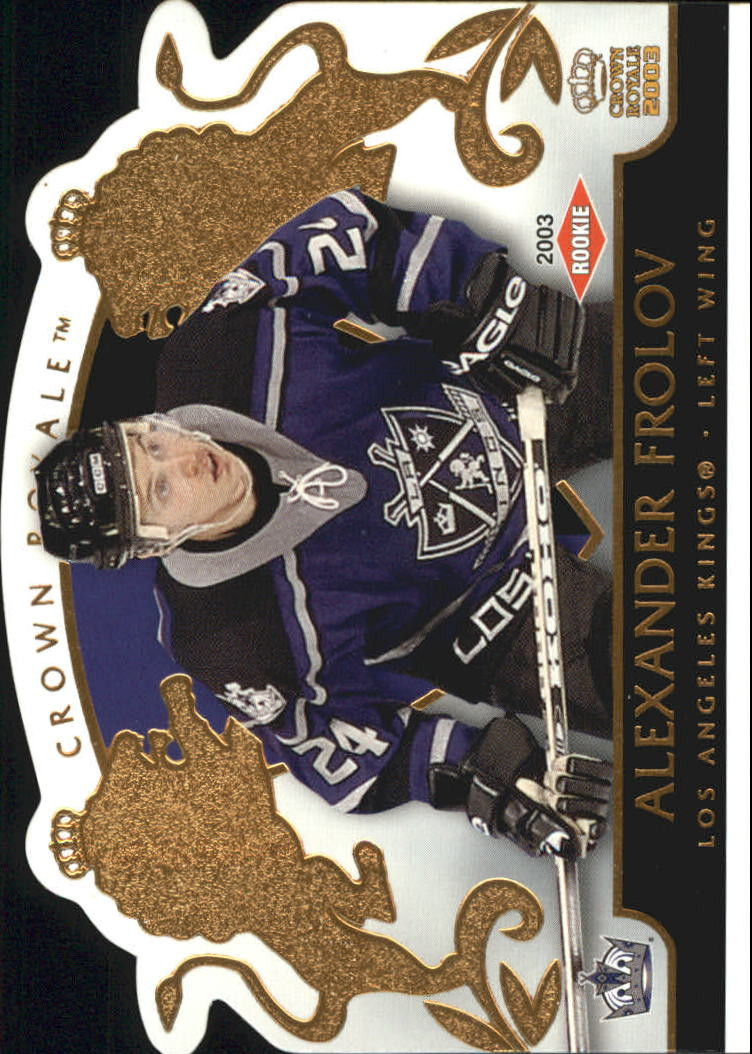 2002-03 Crown Royale #118 Alexander Frolov RC