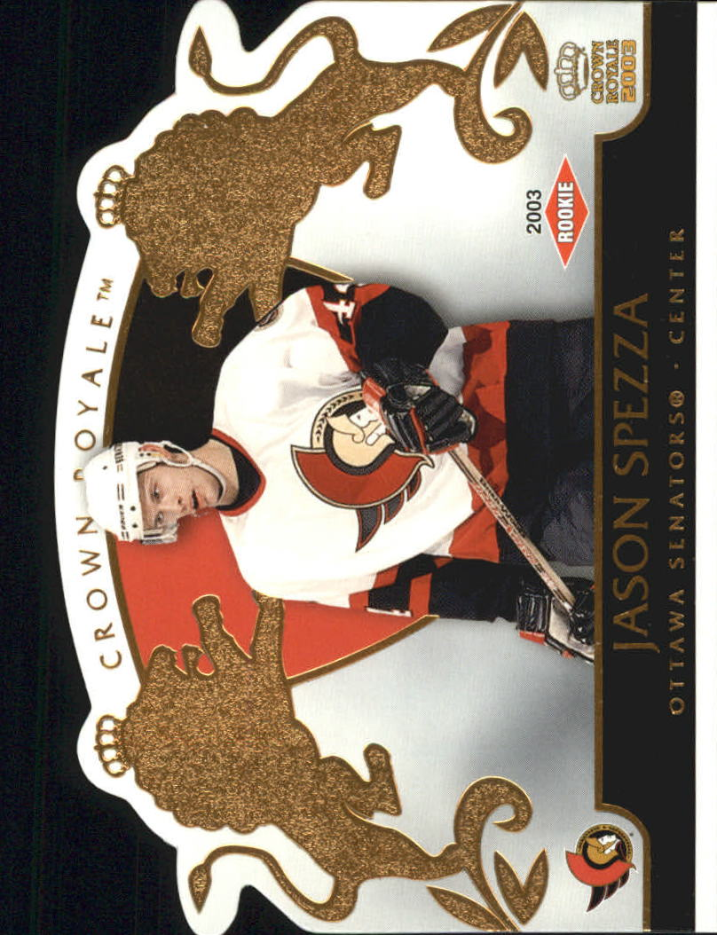 2002-03 Crown Royale #127 Jason Spezza RC