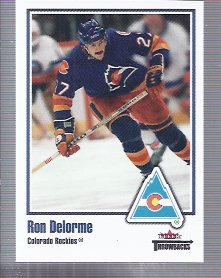 2002-03 Fleer Throwbacks #47 Ron Delorme