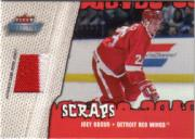 2002-03 Fleer Throwbacks Scraps #4 Joey Kocur