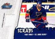2002-03 Fleer Throwbacks Scraps #7 Tony Twist