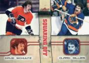 2002-03 Fleer Throwbacks Squaring Off #2 Dave Schultz/Clark Gillies