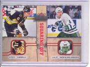 2002-03 Fleer Throwbacks Squaring Off #3 Cam Neely/Ulf Samuelsson