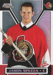 2002-03 Pacific Exclusive #179B Jason Spezza RC