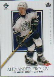 2002-03 Private Stock Reserve Retail #164 Alexander Frolov RC